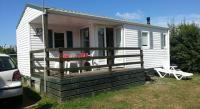 Terrain de Camping La Roche Derrien Mobile Home à Louannec