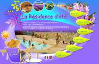 Terrain de Camping Larnas Camping La Résidence D'Été