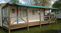 Terrain de Camping Damparis Location en Mobil home au Camping De L'Arquebuse