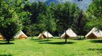 Terrain de Camping Châteauneuf de Vernoux Camping De Pierrageais