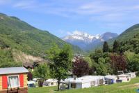 Terrain de Camping Villaroger Camping La Piat