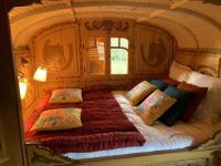 Terrain de Camping Dragey Ronthon La Roulotte Les Chaignonnières - Logement Insolite