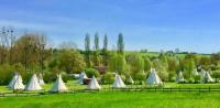 Terrain de Camping Sarthe Les Tipis du Bonheur de Vivre