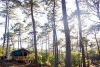 Terrain de Camping Moulis en Médoc Huttopia Lac de Carcans