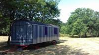 Terrain de Camping Loire Atlantique séjour en roulotte