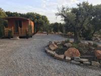 Terrain de Camping Montpellier roulotte