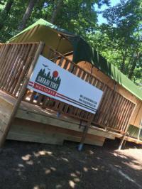 Terrain de Camping Bretagne Safari Tent Holidays