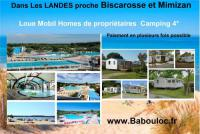 Terrain de Camping Aquitaine babouloc