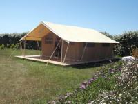 Terrain de Camping Plounévez Lochrist Camping De Penn Enez