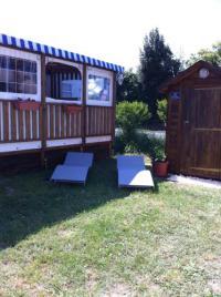Camping Gaillan en Médoc Mobile Home Talmont