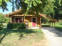 Terrain de Camping Midi Pyrénées Chalet Cahors - 4 pers.