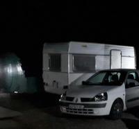 Terrain de Camping Sarthe Petite Caravane deux places
