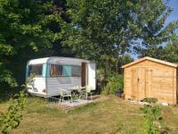 Terrain de Camping Haute Normandie Caravane des deux amants