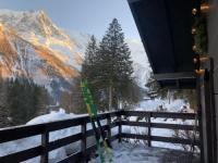 gite Chamonix Mont Blanc Chalet Chemin de la Pierre À Ruskin