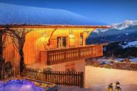 gite Les Gets Stylish chalet for 8 - Mont Blanc views, hot tub, terrace - OVO Network