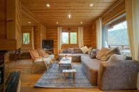 gite Praz sur Arly Carlines Cosy Chalet 100 meters from the slopes
