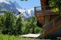 gite Le Bourg d'Oisans Chalet l'ecrin - New Chalet 6 pers with panoramic view of the Meije