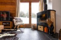 gite Saint Gervais les Bains Warm et Cosy 3BR Chalet w Fireplace in Nature