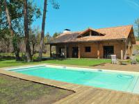 Châlet Soorts Hossegor Ferienhaus mit Pool Moliets-et-Maa 130S
