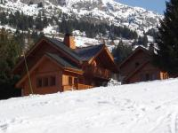 gite La Ferrière Mountain Chalet, hidden among the trees, with stunning views over lake