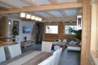 Gîte Saint Gervais les Bains Gîte chalet mitoyen 3 chambres 2 salles de bains