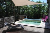 gite La Garde Adhémar Insolite Bois Cailloux avec Spa