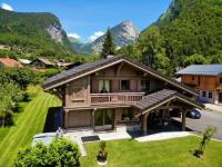 gite Chamonix Mont Blanc Chalet Luxe Les Mélèzes