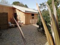 gite Belin Béliet La cabane de Coy et Spa cottage en bois à 600m du lac de Sanguinet (entre Biscarrosse et Arcachon à 45minutes de Bordeaux)