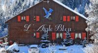 Chambre d'Hôtes Beauvezer Chambres d'hôtes Chalet l'Aigle Bleu