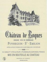 Idée de Sortie Lussac Château de Roques