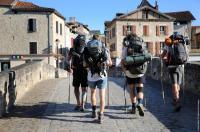 Idée de Sortie Grand Vabre Le chemin Conques -Toulouse (itinéraire de liaison jacquaire)