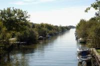 Du lac cap sur les marais avec le sentier des canaux  Lacanau