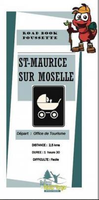 Idée de Sortie Fresse sur Moselle CIRCUIT POUSSETTE À SAINT MAURICE SUR MOSELLE