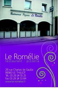 RESTAURANT LE ROMELIE Le Thillot