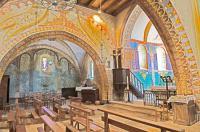 Idée de Sortie Nabirat Fresques de l'Église St Georges à St Cirq Madelon
