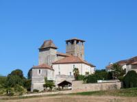 Idée de Sortie Saint André de Double Eglise forteresse de Siorac de Ribérac