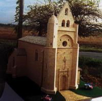 Musée d´artisanat et monuments en allumettes de Fontet Bourdelles