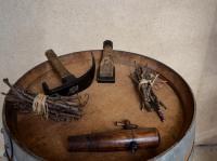 Musée agricole à la Ferme de Deloges Bourdelles