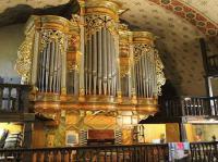 Orgue-Remy-Mahler--Buffet--Saint-Etienne-de-Baigorry Saint Étienne de Baïgorry