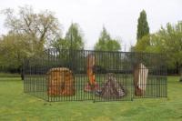 Idée de Sortie Ygos Saint Saturnin La Forêt d'Art Contemporain : Zoo de Sculptures, oeuvre n12