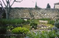Jardin médiéval Le buis qui court Lot et Garonne
