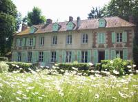 Jardin du chateau de Sacy Pronleroy