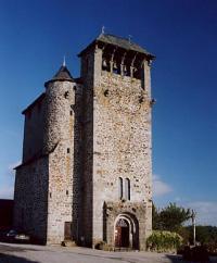 Idée de Sortie Graissac Eglise et croix d'Orlhaguet