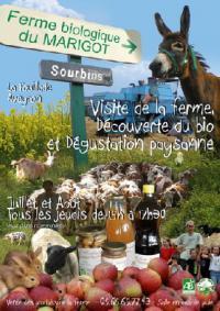 Idée de Sortie Saint André de Najac La Ferme du Marigot