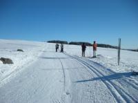 Idée de Sortie Saint Rémy de Chaudes Aigues Station de ski de Laguiole Ski de Fond et Raquettes