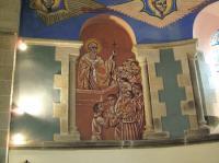 Idée de Sortie Lestrade et Thouels Visite de l'Eglise St Martial de Lagarde - Fresques de N. GRESCHNY