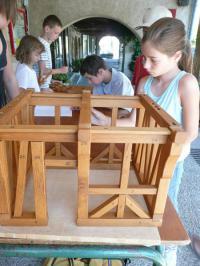Idée de Sortie Saint André de Najac L'Eté des 6-12 ans - La maison à pans de bois