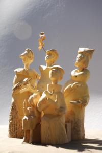 Idée de Sortie Vieillevie Sculpture sur bois - Jean-Pierre Caen