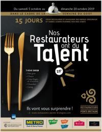 Idée de Sortie Brest Nos restaurateurs ont du talent !
