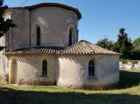 Idée de Sortie Montcaret Eglise de Pessac-sur-Dordogne